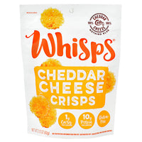 Schuman Cheese Whisps Cheese Crisps - Cheddar - 12 ea - 10088231413209