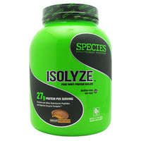Species Nutrition Isolyze - Chocolate Peanut Butter - 44 Servings - 855438005628