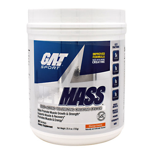 GAT JetMASS - Orange Creme - 30 Servings - 816170020966