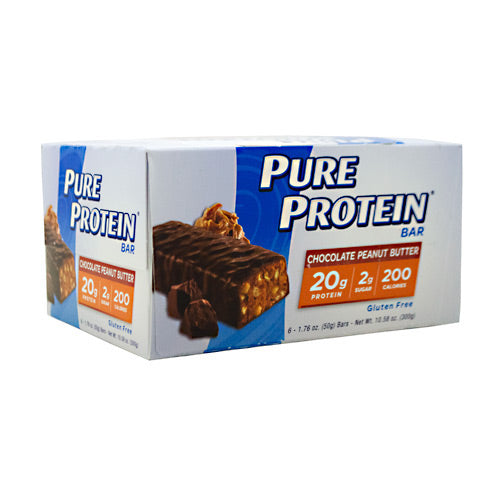 Pure Protein Pure Protein Bar - Chocolate Peanut Butter - 6 Bars - 749826138015