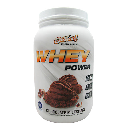 ISS Research Oh Yeah! Whey Power - Chocolate Milkshake - 2 lb - 788434108638