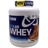 Usn Blue Lab 100% Whey - Peanut Butter & Choc Chip Cookie - 4.5 lb - 6009544904786