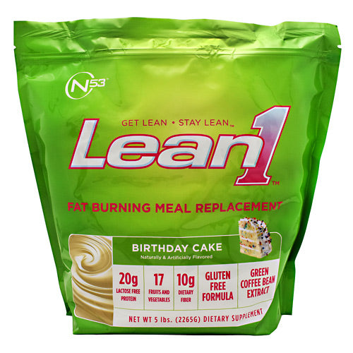 Nutrition 53 Lean1 - Birthday Cake - 5 lbs - 810033012860