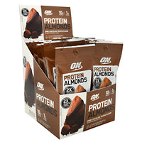 Optimum Nutrition Protein Almonds - Dark Chocolate Truffle - 12 Packets - 748927958423