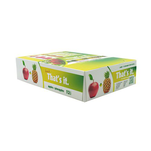 Thats It Nutrition Thats it Bar - Apple + Pineapple - 12 Bars - 850397004248