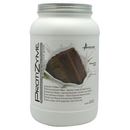 Metabolic Nutrition Protizyme - Chocolate Cake - 2 lb - 764779246297
