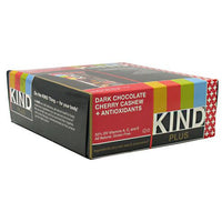 Kind Snacks Kind Plus - Dark Chocolate Cherry Cashew + Antioxidants - 12 Bars - 602652171505