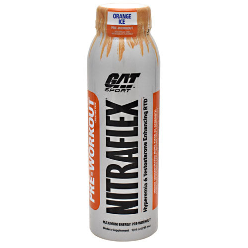 GAT Nitraflex - Orange Ice - 12 Bottles - 10816170020581