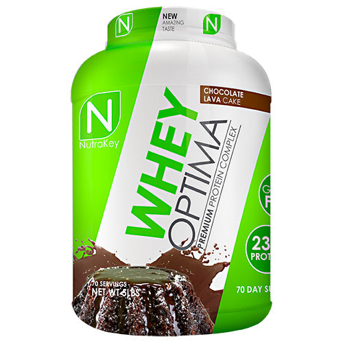Nutrakey Whey Optima - Chocolate Lava Cake - 63 Servings - 851090006263