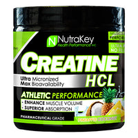 Nutrakey Creatine HCL - Pineapple Coconut - 125 ea - 851090006102