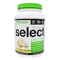 PEScience Vegan Series Select Protein - Amazing Vanilla Indulgence - 27 Servings - 040232199875
