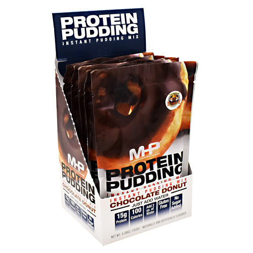 MHP Protein Pudding - Chocolate Donut - 6 Packets - 666222008264