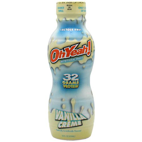 ISS Research OhYeah! Protein Shake RTD - Vanilla Creme - 12 Bottles - 788434114370