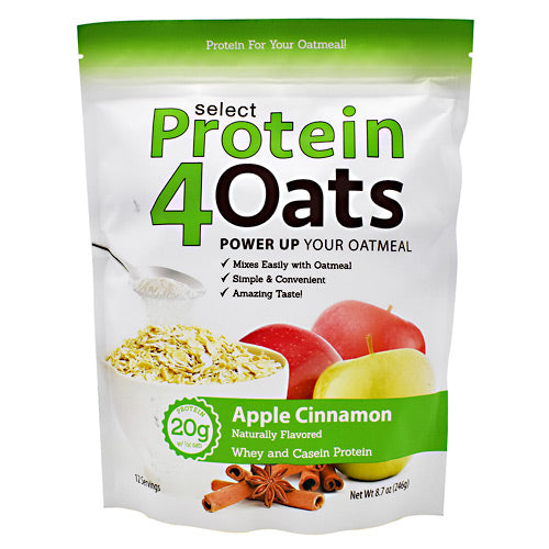 PEScience Select Protein4Oats - Apple Cinnamon - 12 Servings - 040232426414