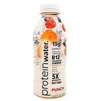Probalance Inc Protein Water - Punch - 16 Bottles - 20857583005335