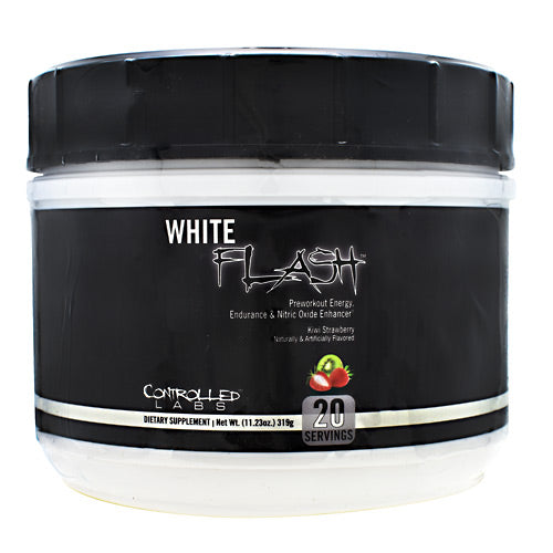 Controlled Labs White Flash - Kiwi Strawberry - 20 Servings - 856422005785