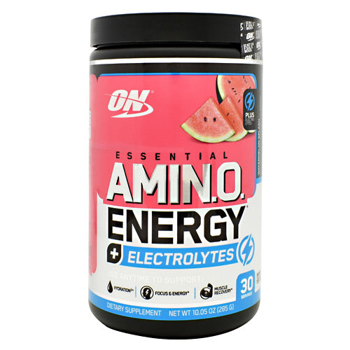 Optimum Nutrition Essential Amino Energy + Electrolytes - Watermelon Splash - 30 Servings - 748927060522