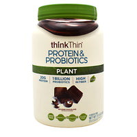 Think Products Plant Protein & Probiotics - Belgian Chocolate - 22 Servings - 753656713762