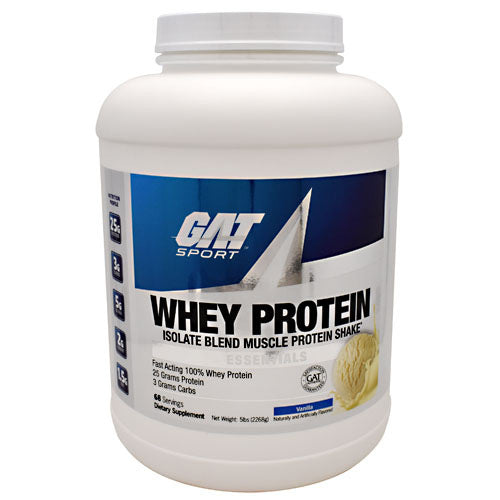 GAT Whey Protein - Vanilla - 68 Servings - 816170020911