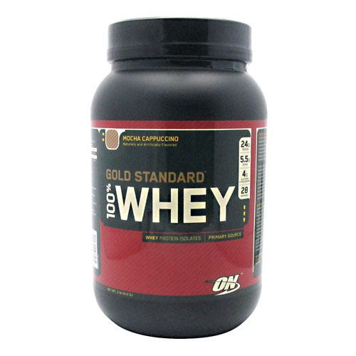 Optimum Nutrition Gold Standard 100% Whey - Mocha Cappuccino - 2 lb - 748927026245