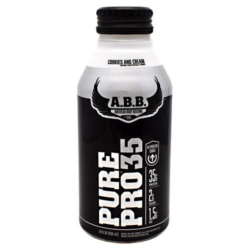 ABB Pure Pro 35 - Cookies & Cream - 12 Bottles - 00045529856707