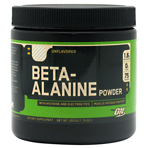 Optimum Nutrition Beta-Alanine - Unflavored - 75 Servings - 748927020946