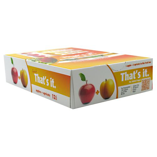 Thats It Nutrition Thats it Bar - Apple + Apricot - 12 Bars - 850397004057
