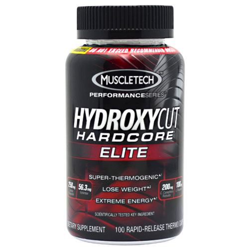 Muscletech Hydroxycut Hardcore Elite - 100 ea - 631656603361