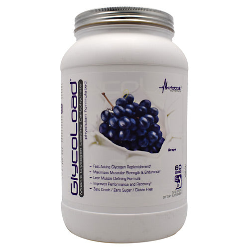 Metabolic Nutrition GlycoLoad - Grape - 1200 g - 764779120078