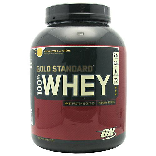 Optimum Nutrition Gold Standard 100% Whey - French Vanilla Creme - 5 lb - 748927024128