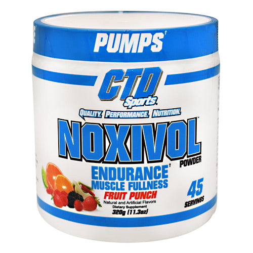 CTD Labs Noxivol - Fruit Punch - 45 Servings - 696859122798