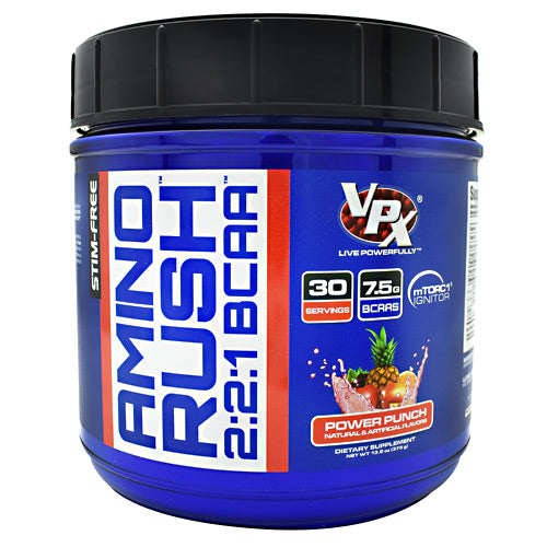 VPX Amino Rush - Power Punch - 30 Servings - 610764388858