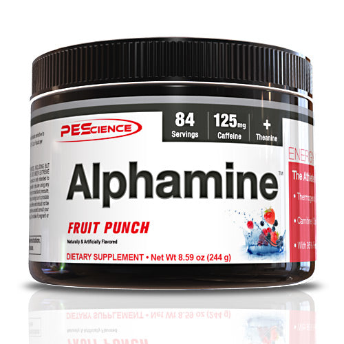 PEScience Alphamine - Fruit Punch - 84 Servings - 040232199998
