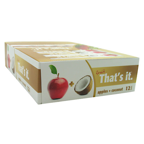 Thats It Nutrition Thats it Bar - Apple + Coconut - 12 Bars - 850397004545