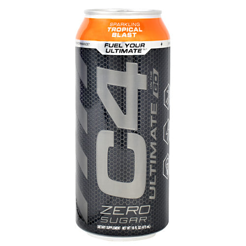 Cellucor Ultimate C4 On the Go - Sparking Tropical Blast - 12 Cans - 842595106640