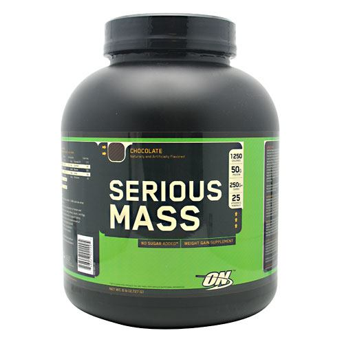 Optimum Nutrition Serious Mass - Chocolate - 6 lb - 748927022995