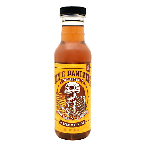 Sinister Labs Panic Pancakes Pancake Syrup - Maple Madness - 12 oz - 853698007451