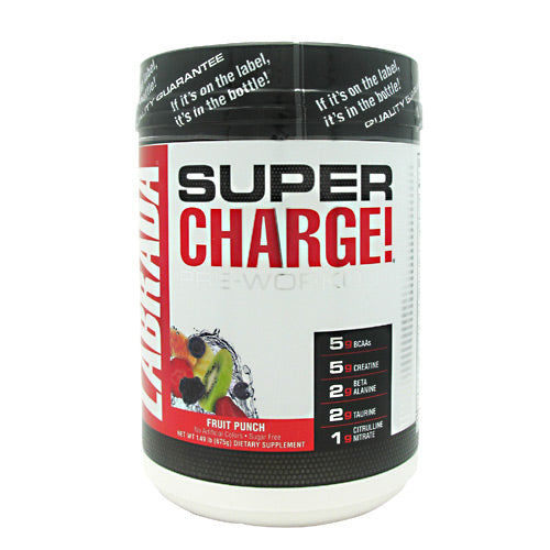 Labrada Nutrition Super Charge 5.0 - Fruit Punch - 25 Servings - 710779444980