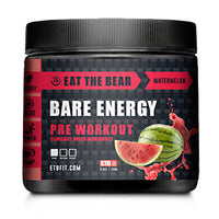 Eat The Bear Bare Energy - Strawberry Watermelon - 30 Servings - 637262797241
