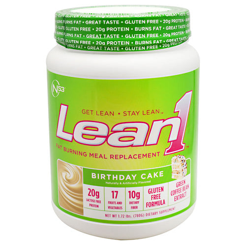 Nutrition 53 Lean1 - Birthday Cake - 1.72 lbs - 810033012495