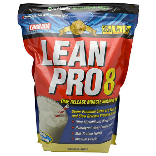 Labrada Nutrition Lean Pro8 - Vanilla Ice Cream - 5 lb - 710779112834
