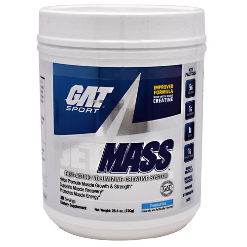 GAT JetMASS - Tropical Ice - 30 Servings - 816170020959