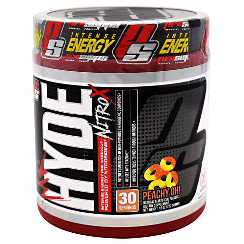 Pro Supps Mr. Hyde Nitro X - Peachy Oh! - 30 Servings - 818253022324