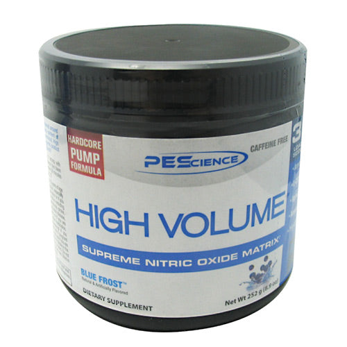 PEScience High Volume - Blue Frost - 18 Servings - 040232096464