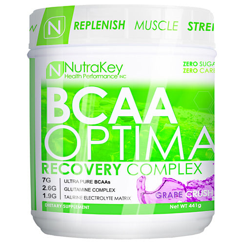 Nutrakey BCAA Optima - Grape Crush - 30 Servings - 851090006058