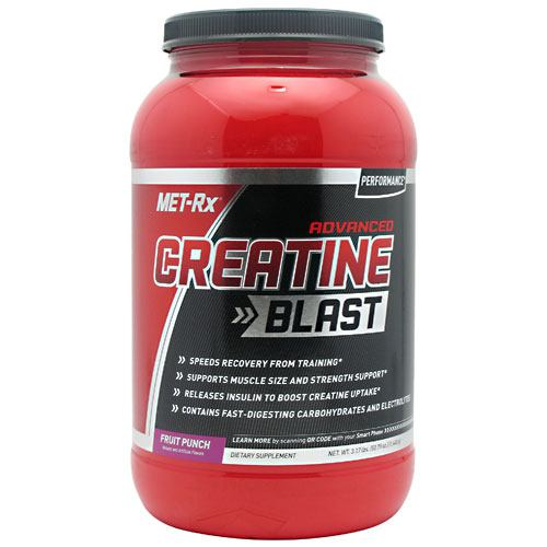Met-Rx USA Advanced Creatine Blast - Fruit Punch - 30 ea - 786560367264