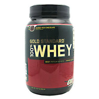 Optimum Nutrition Gold Standard 100% Whey - Double Rich Chocolate - 2 lb - 748927028614