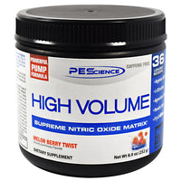 PEScience High Volume - Melon Berry Twist - 18 Servings - 040232199233