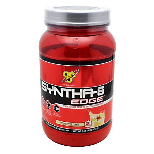 BSN Edge Syntha-6 - Sugar Cookie - 28 Servings - 834266004584