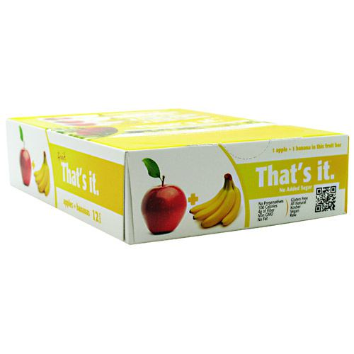 Thats It Nutrition Thats it Bar - Apple + Banana - 12 Bars - 850397004125